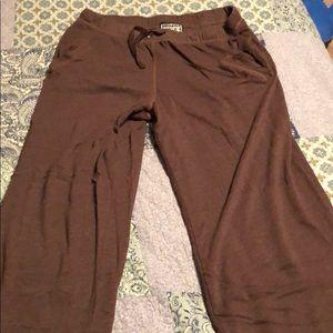 Victoria's Secret brown sweatpants size large
